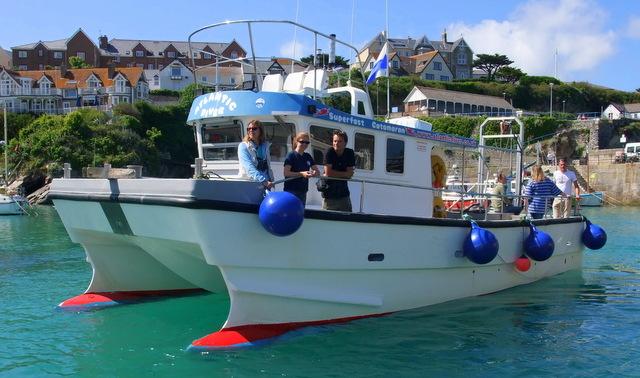 Atlantic Diver and Cornwall Wildlife Trust Sea Safari