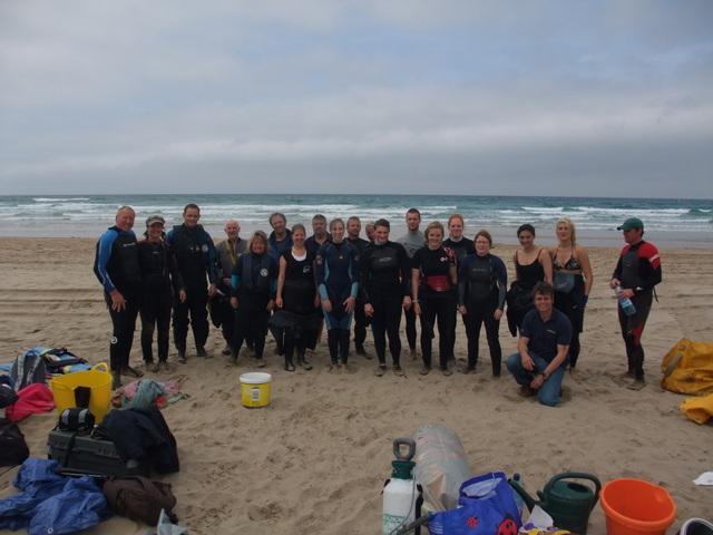 Motley Crew of Marine Mammal Medics Elated after Sucessful Dolphin Refloat