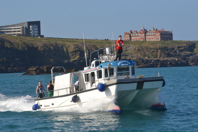 """Atlantic Diver"" and the Headland Hotel"