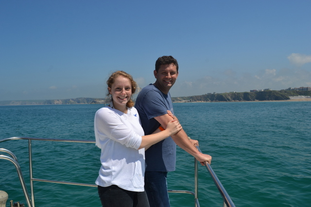 Glorious sunshine on Newquay Sea Safaris