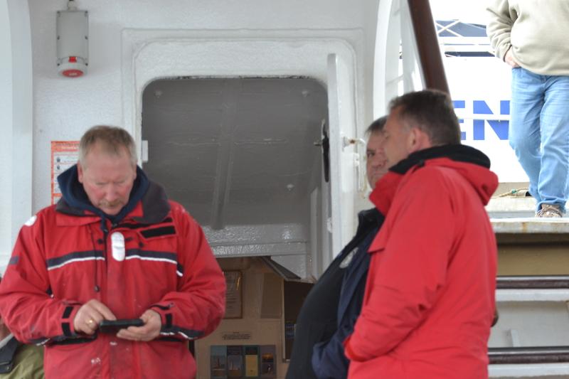 BDMLR Medics on ferry