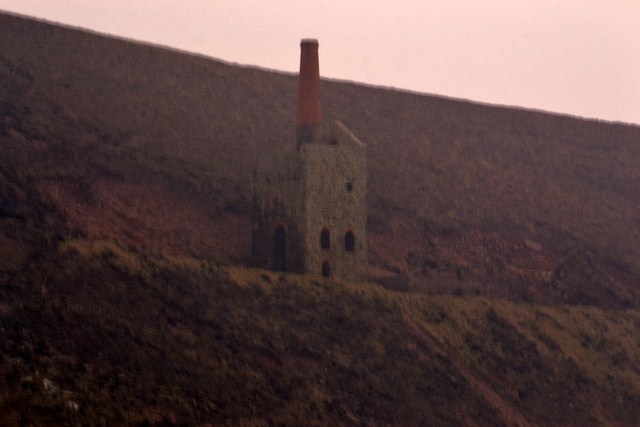 Cornwall ..A World Heritage Site...Evidence of Cornish Tin Mining straddling the Majestic Cliffs