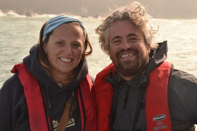 Koru Kayacking enjoying the Seal Survey