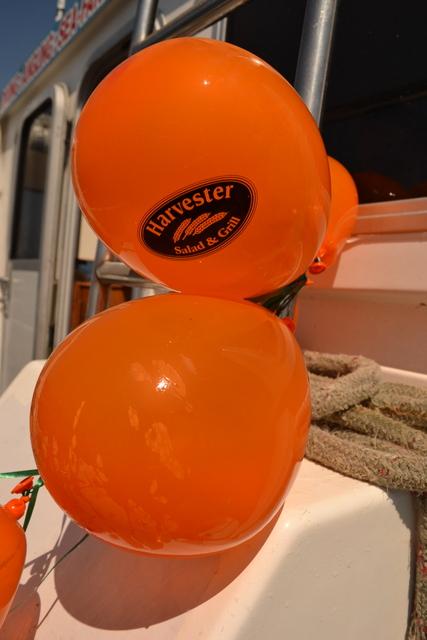 Harvester Restaurant Balloon Rubbish