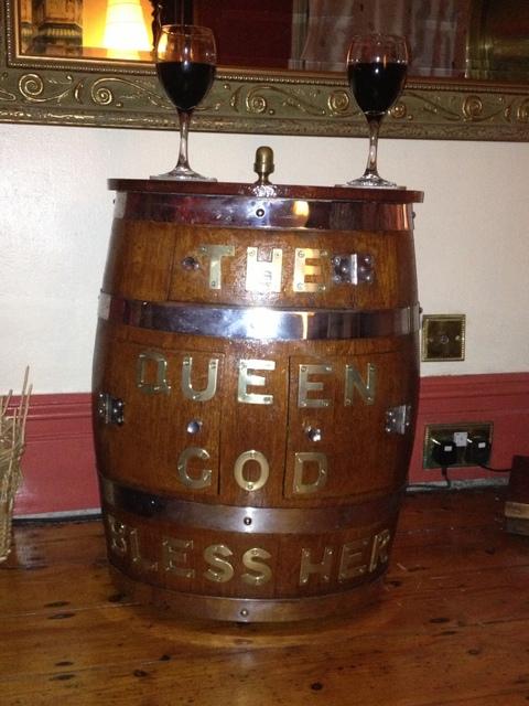 Ships Rum Barrel