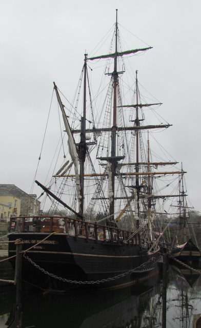 Square Riggers at Charlestown