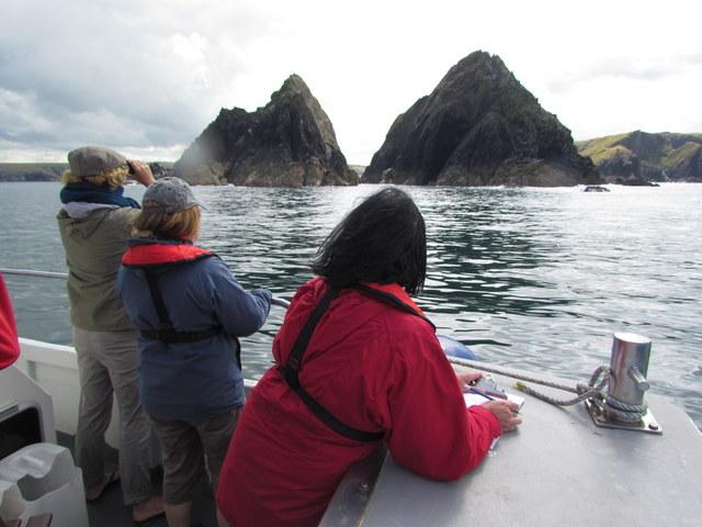 Seal Surveyors take in Spectacular Scenery