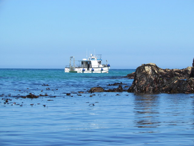 """Atlantic Diver"" off St Agnes"