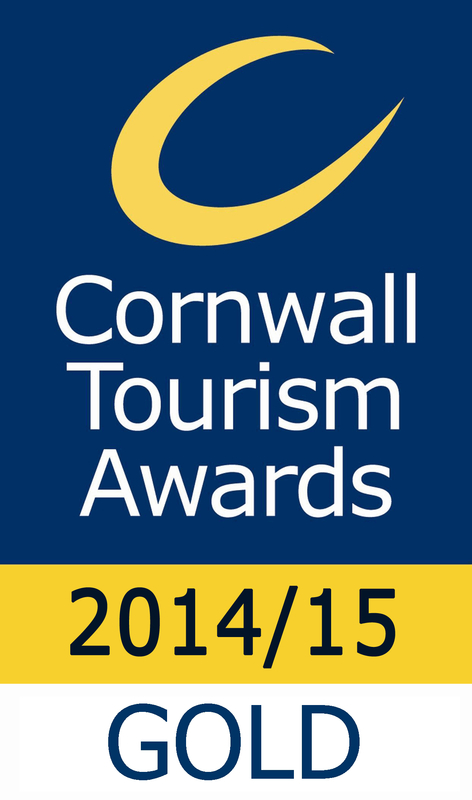 Cornwall Tourism Awards Logo...a Gold for Newquay Sea Safaris and Fishing