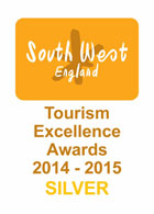 South West Tourism Excellence Award winners 2014/15